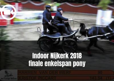 Indoor Nijkerk 2018 finale enkelspan pony