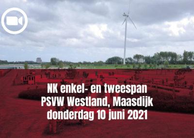 NK enkel- en tweespan Maasdijk (donderdag)