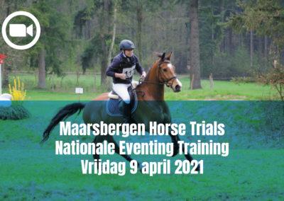 Maarsbergen Horse Trials Nationale Eventing Training Vrijdag 9 april