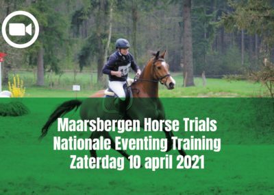 Maarsbergen Horse Trials Nationale Eventing Training Zaterdag 10 april