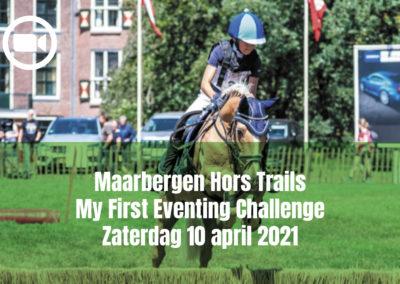 Maarbergen Hors Trails My First Eventing Challenge Zaterdag 10 april