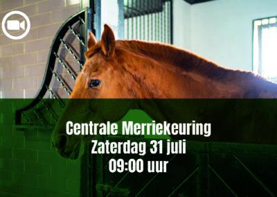NNFPS Centrale Merrie Keuring 31-07-2021