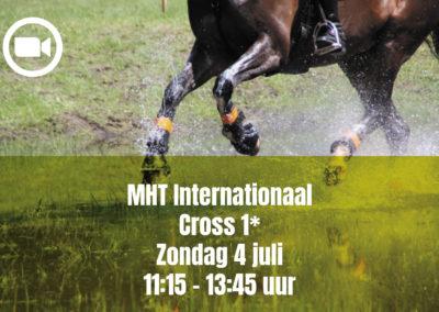 MHT Internationaal Cross 1* – Sunday 4 july 11.15 – 13.45 uur